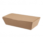 Medium Kraft Boxes 250/220 x 125/95 x 60mm Janitorial Supplies