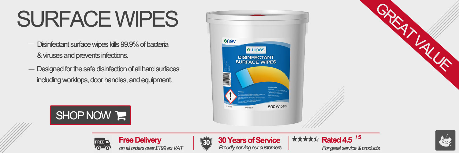Enov Disinfectant Surface Wipes