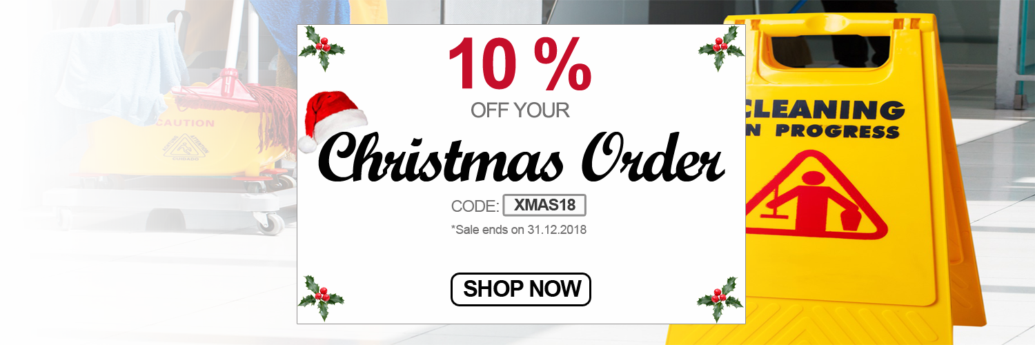 Christmas Campaign | Janitorial Supplies